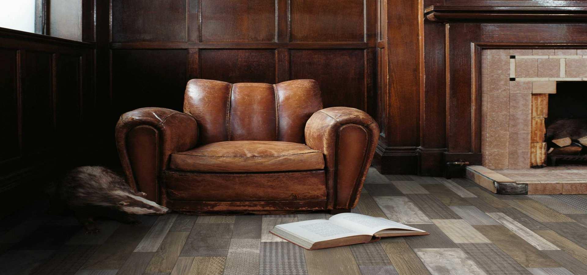 Bild Wohnen CV Boden Vintage Style Salon