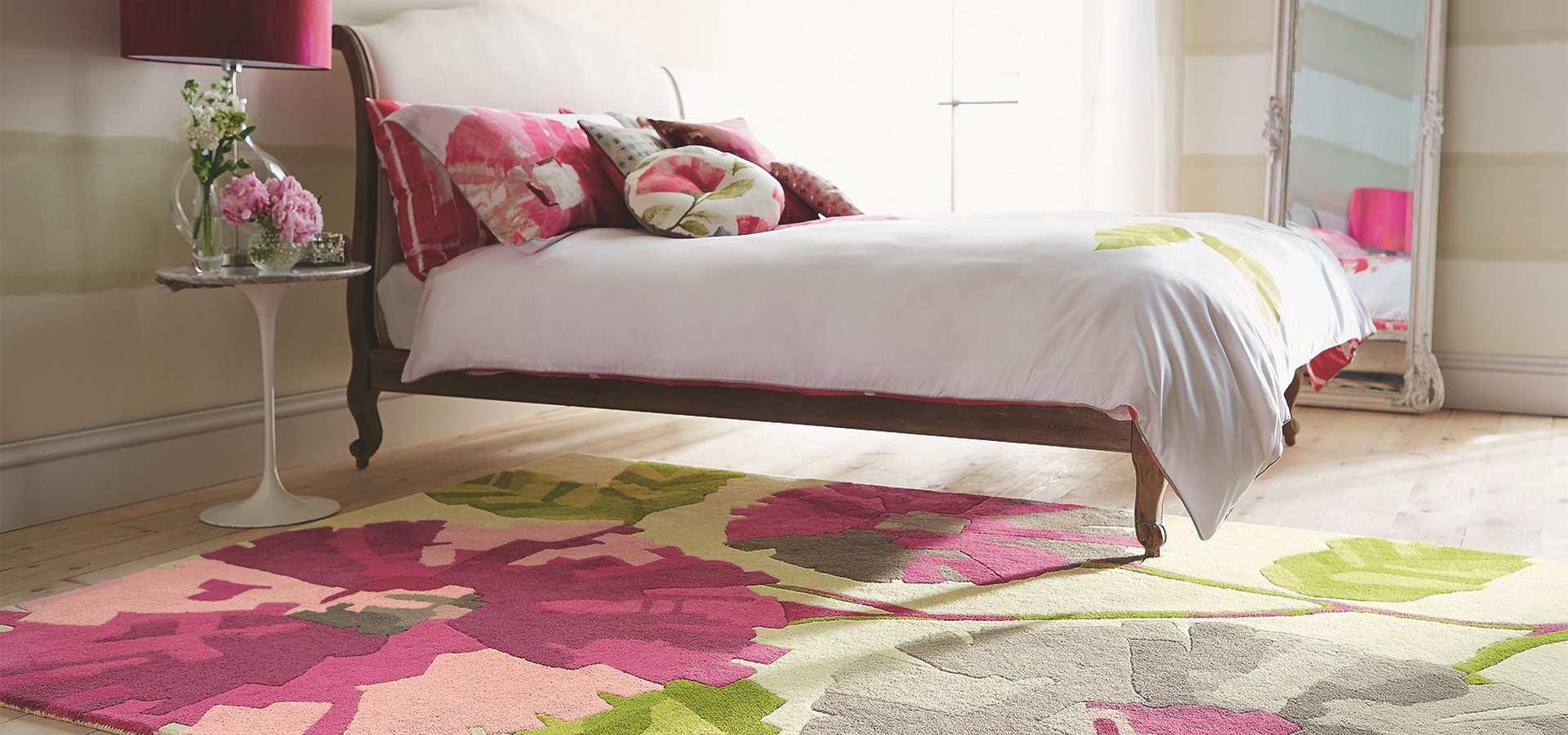 Bild: Schlafzimmer Teppich Hermosa