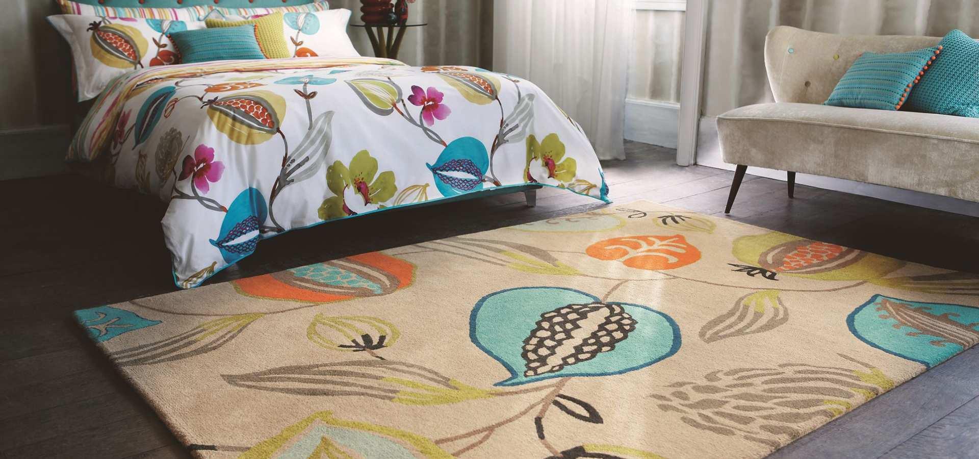 Bild: Schlafzimmer Teppich Tembok
