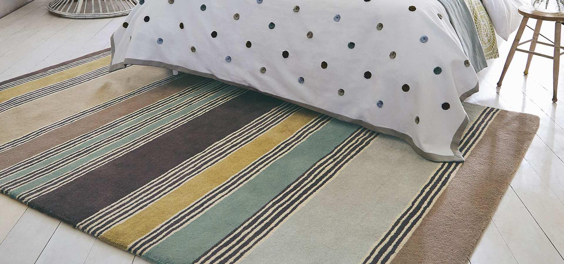 Bild: Schlafzimmer mit Teppich Affinity