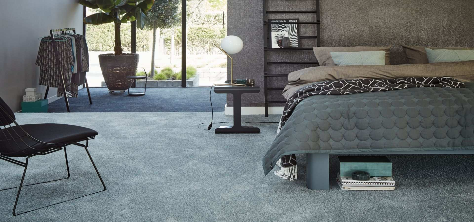Schlafzimmer Teppichboden Soft mint