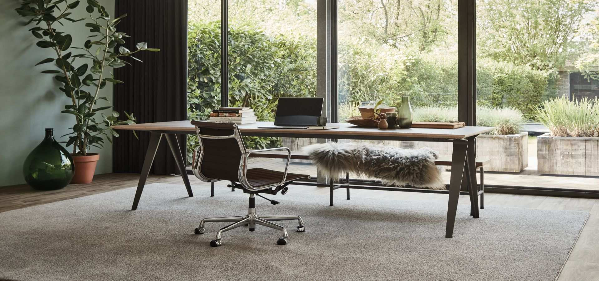 Bild Office Teppichboden Touch grau