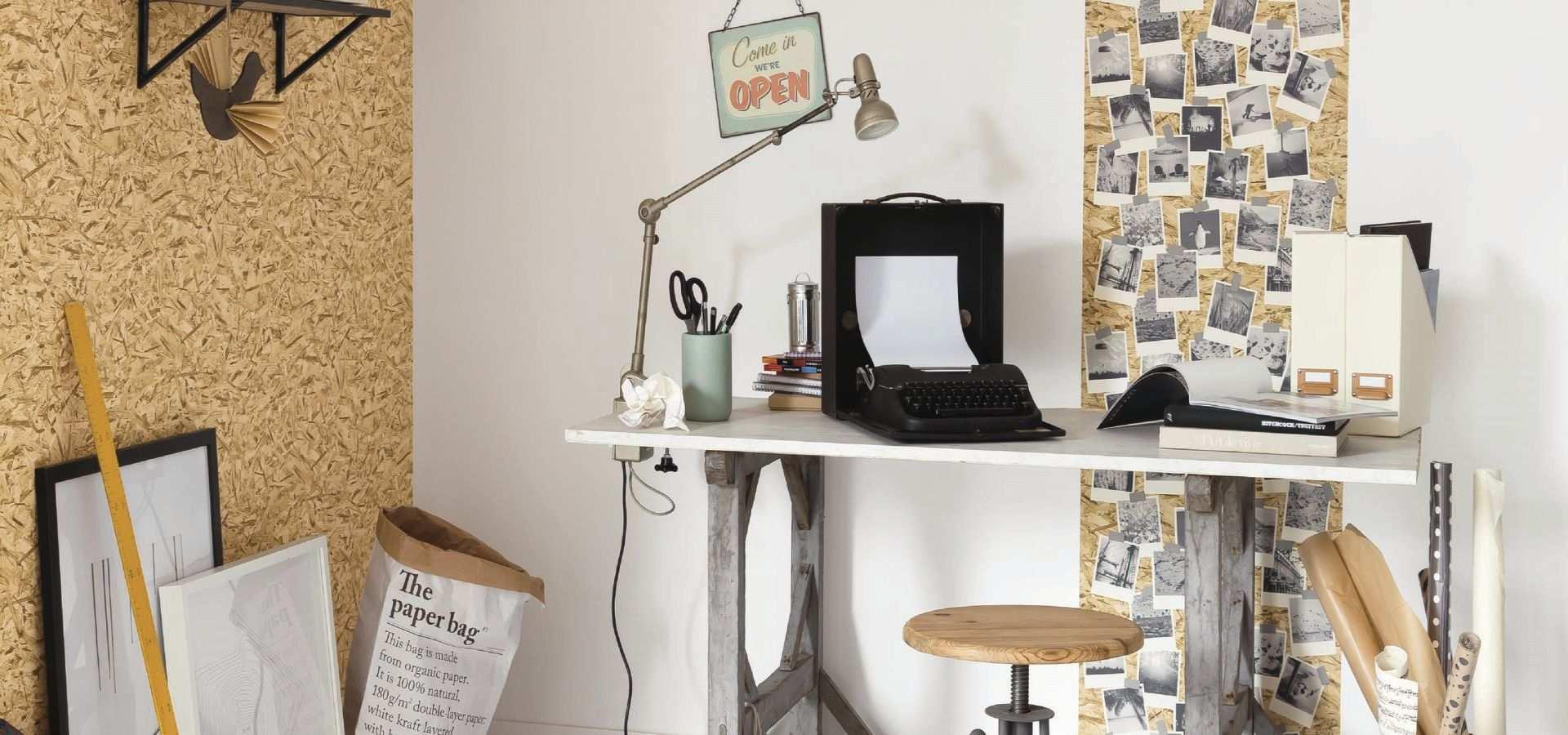 Bild Office Tapete OSB