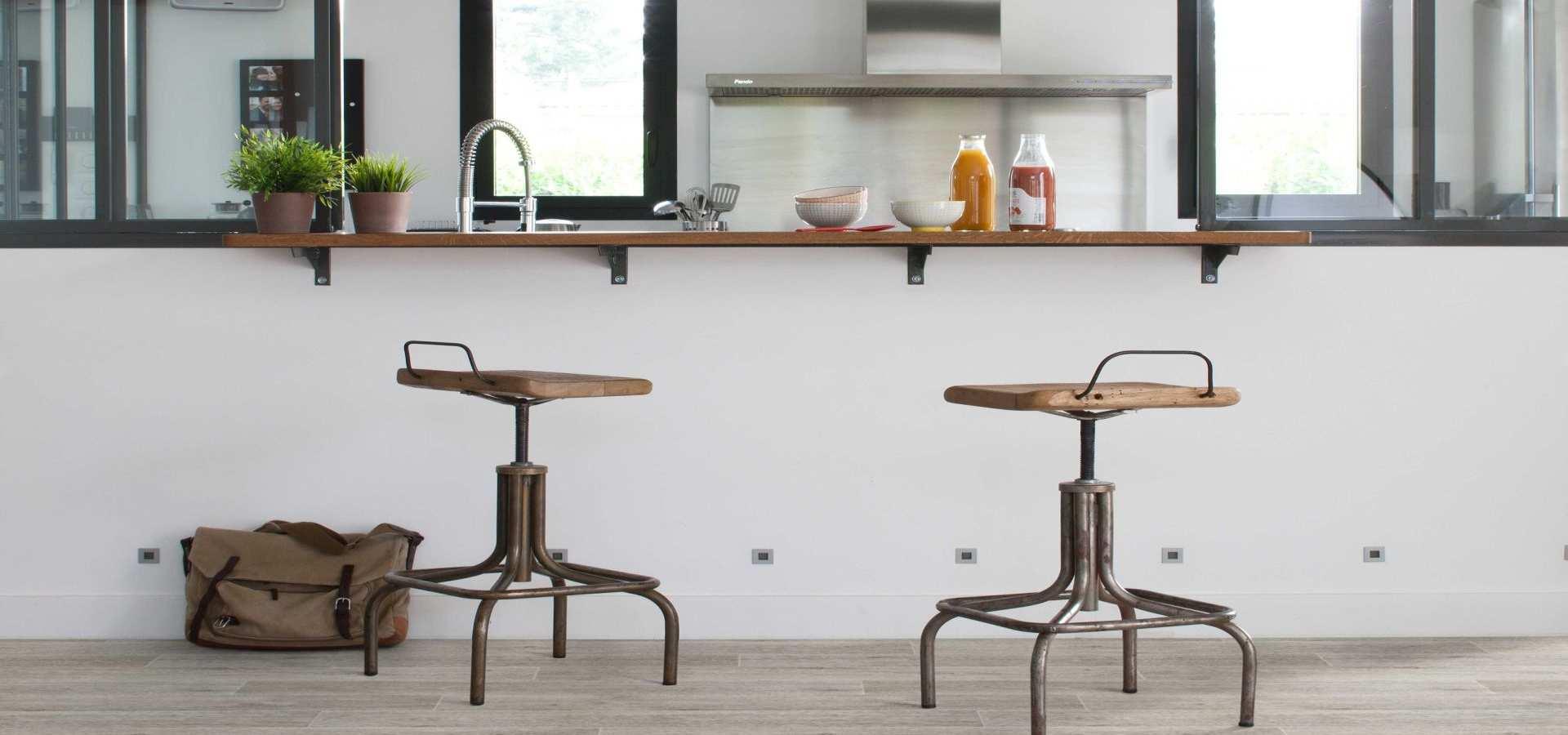 Bild Küche CV Belag rustikal