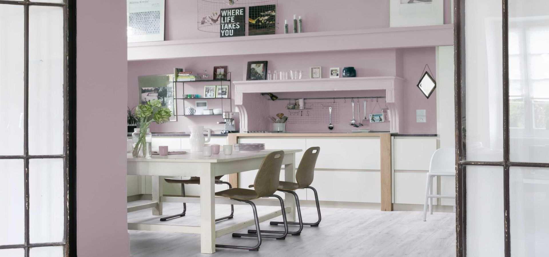 Bild Küche Vinylboden sunny white