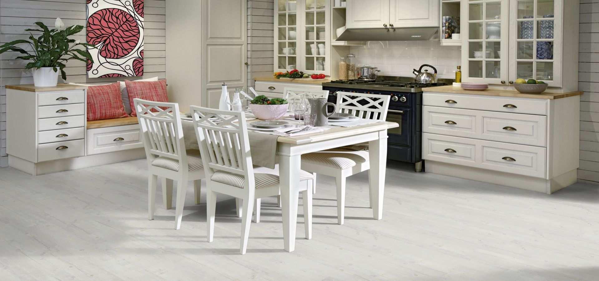 Bild Küche Designbelag Washed Pine